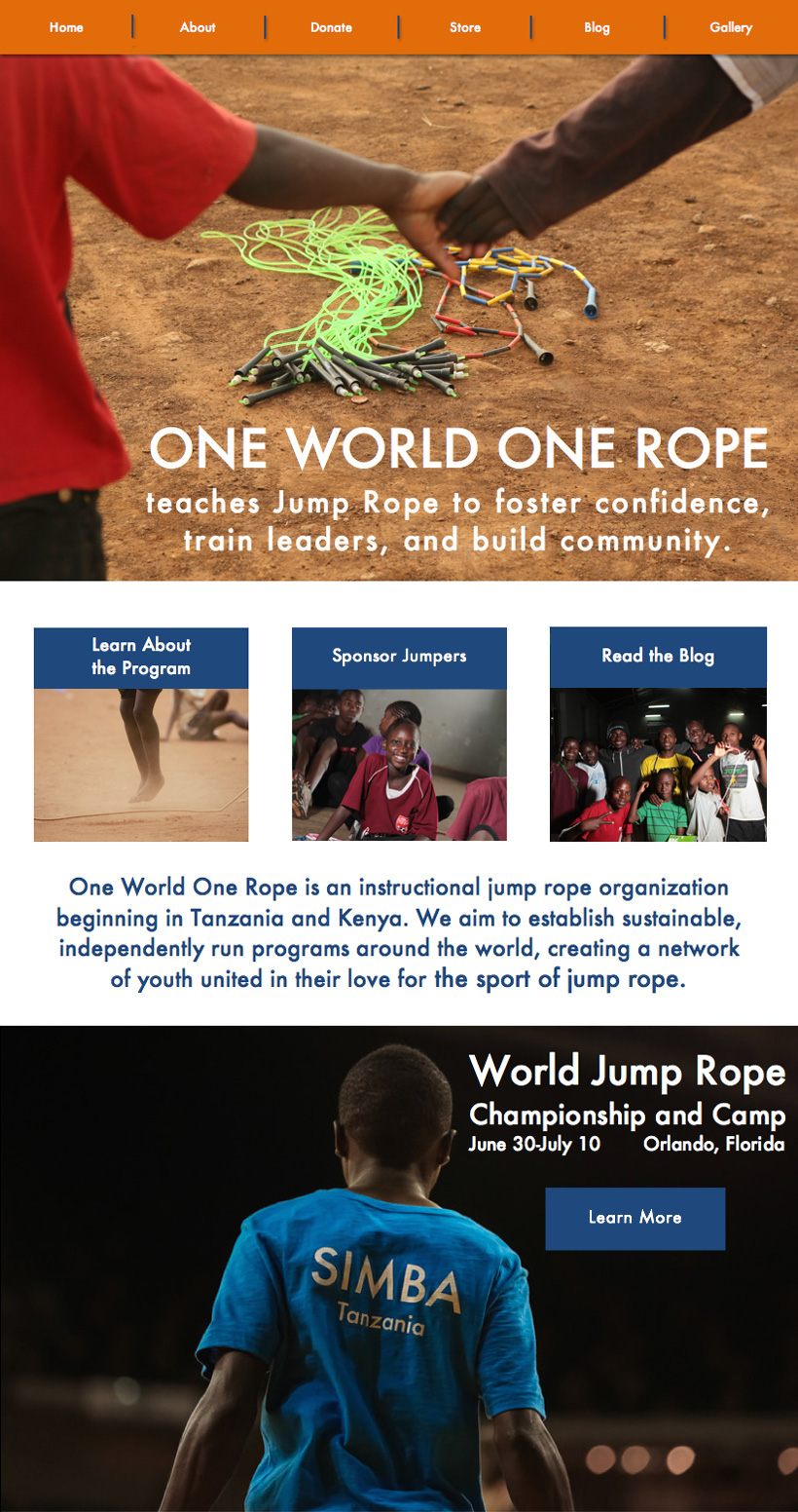 One World One Rope Home Page